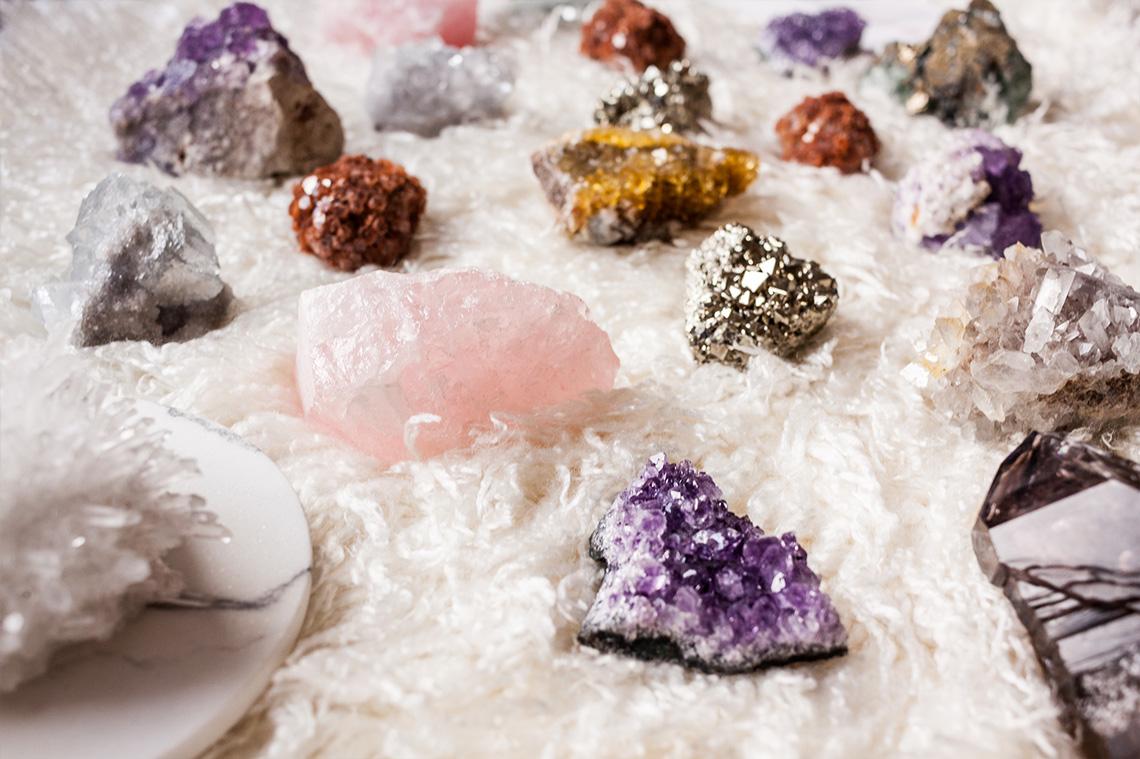 Minerales y Cristales herramientas bienestar