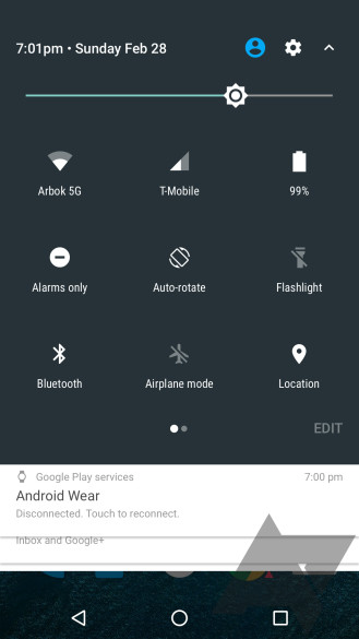 AndroidNsystTray