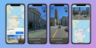 How to use look around street view apple maps