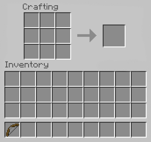 Make a Bow in Minecraft