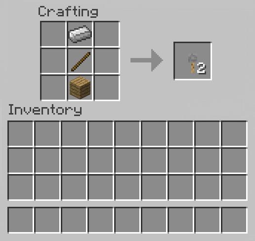 How to Make a Tripwire Hook in Minecraft