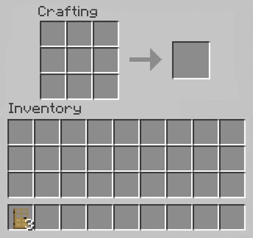 Make an Oak Door in Minecraft