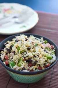 Bean and Rice Salad
