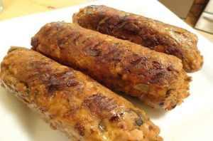 Vegan Spicy Italian Sausage