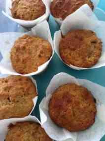 BANANA CARROT & PECAN NUT MUFFINS