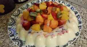 Jelly Ring Pudding
