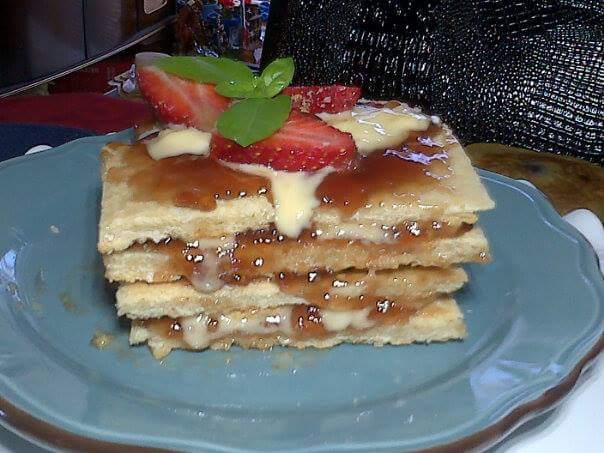 Strawberry Mille Feuille Cake