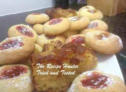TRH Thumbprint cookies