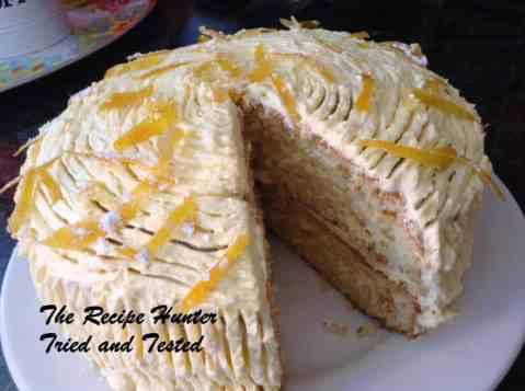 TRH Orange Cake