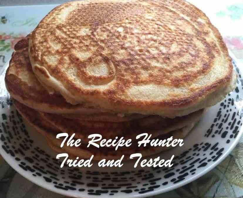 Jasmita's Fluffy pancakes