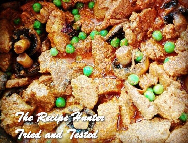 Irene's Steak & Mushroom Curry