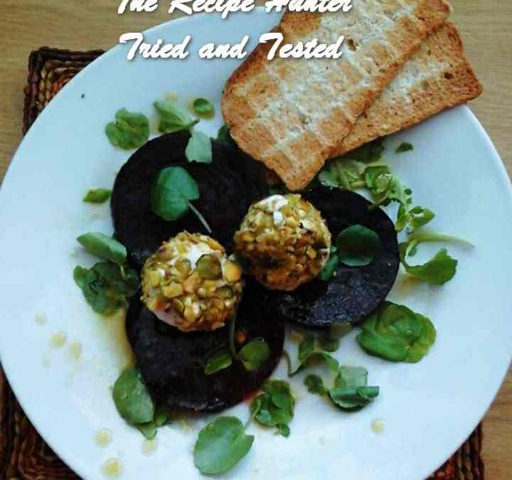 Priscilla's Beetroot and Goat's cheese Starter Salad