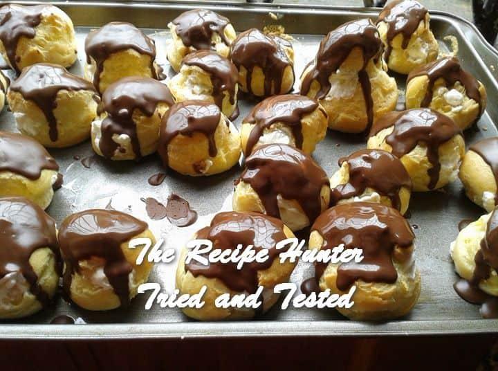 Sita's Chocolate Eclairs with Fresh Cream