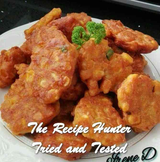 Irene's Spicy Sweetcorn Fritters