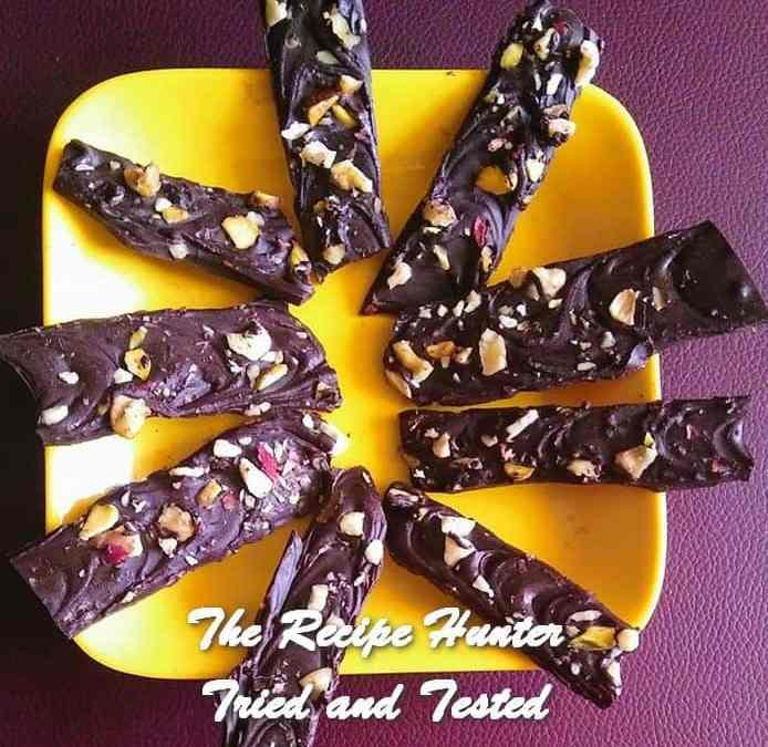 Moumita's Dark Chocolate Nutty Sticks