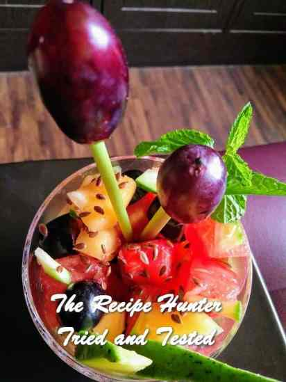 TRH Moumita's Summery Fruity Salad