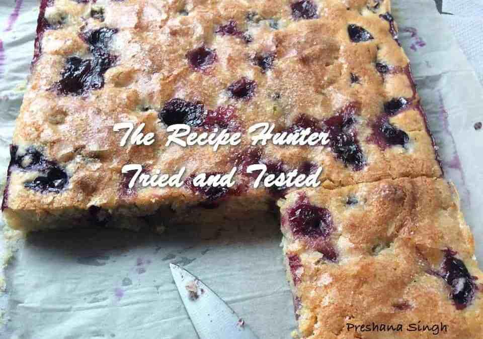 Preshana's Buttermilk Blueberry Breakfast Bake