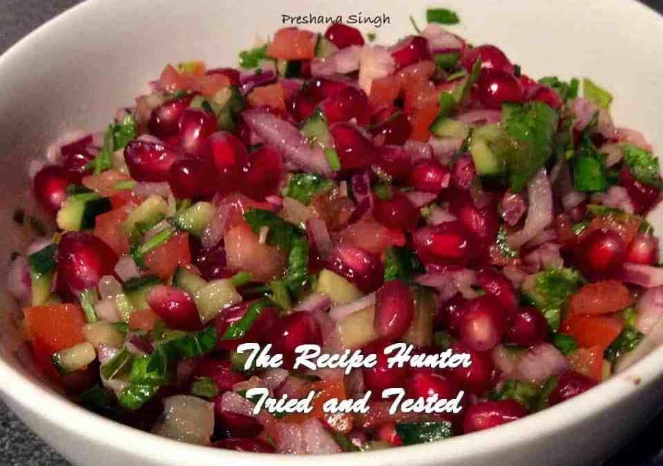 Preshana's Pomegranate Salsa