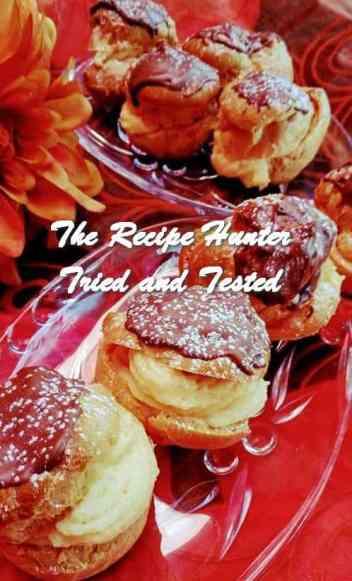 TRH Rashida's Cream Puffs - Eclairs