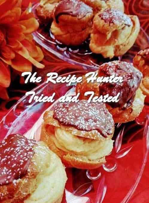 Rashida's Cream Puffs – Eclairs