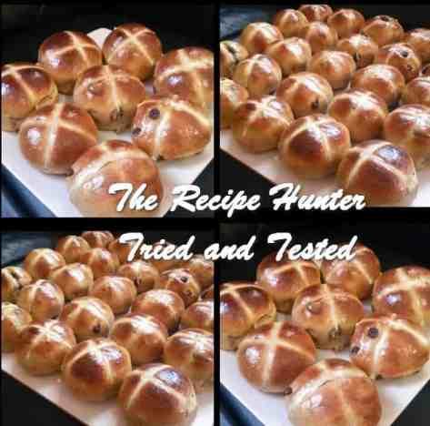 TRH Reshika's Hot Cross Easter Buns