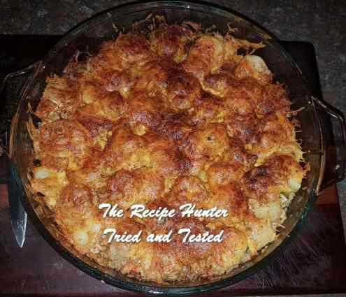 TRH Bev's brown rice and chicken casserole