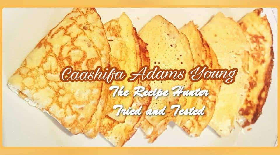 Caashifa's Keto Crepes