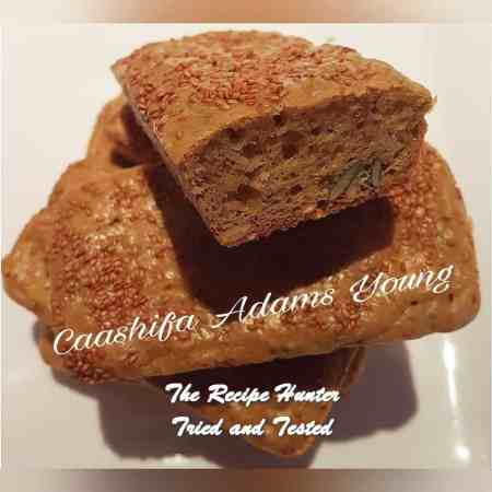 TRH Caashifa's Low Carb Multiseed Tahini Mini Loaves