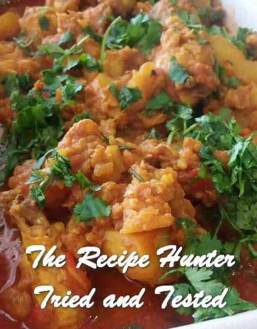 Feriel's Spicy Chicken Curry