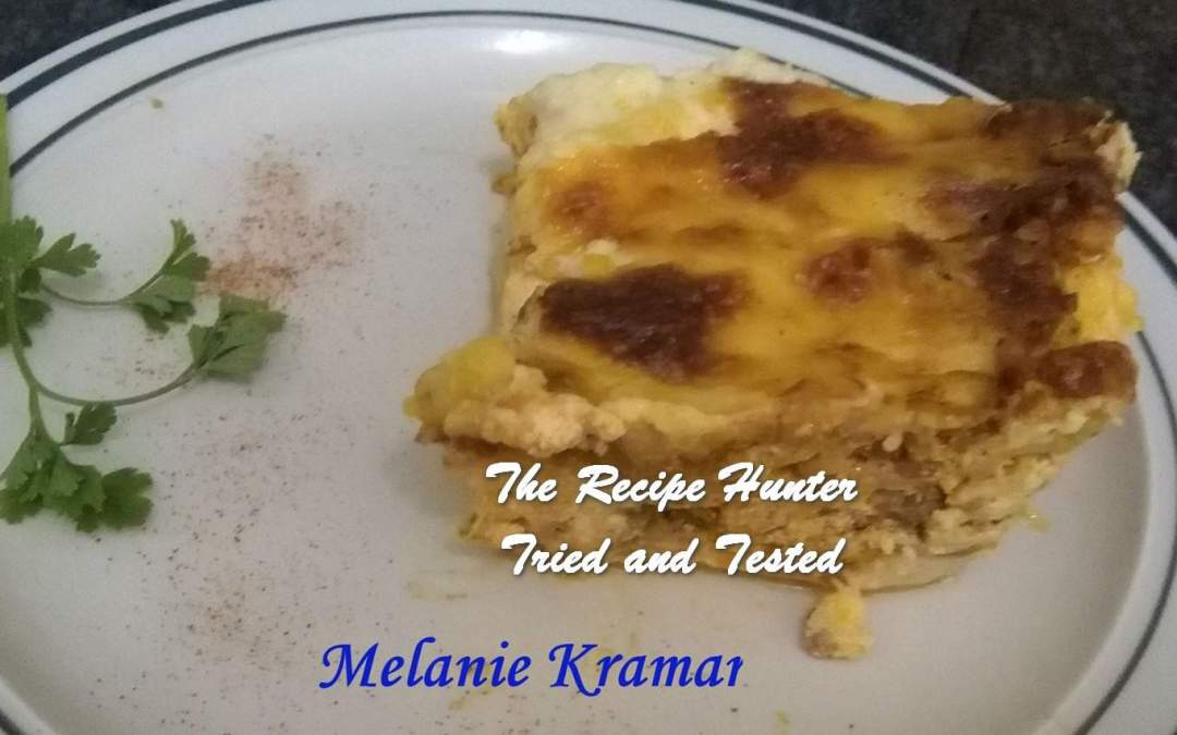 Melanie's Lasagna with Cottage Cheese and Zucchini