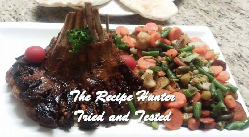 TRH Sandy's Crown Roast of Lamb Ribs