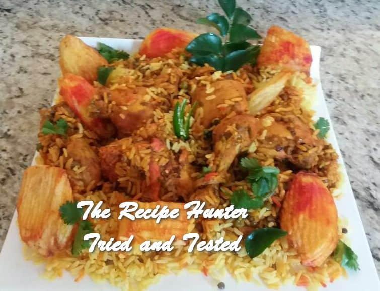 Sandy's Masala Chicken Breyani