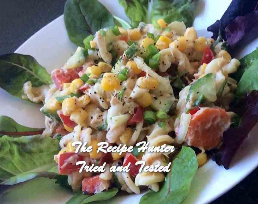 Preshana's Tuna Pasta Salad
