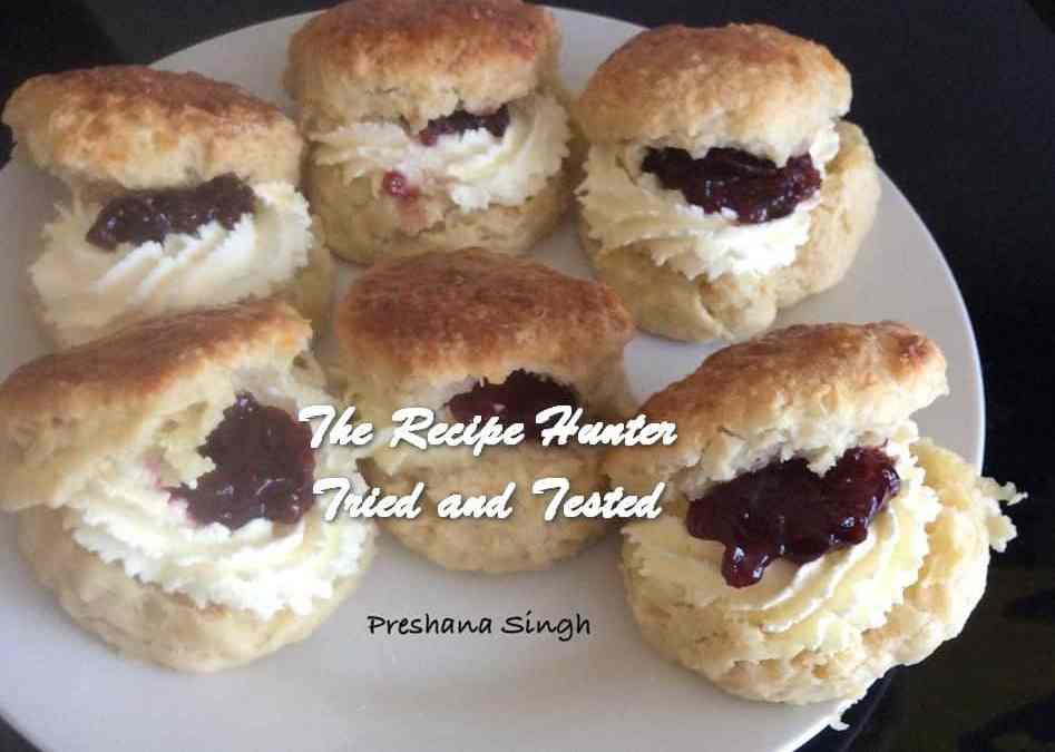 Preshana's Yoghurt Cheese Scones