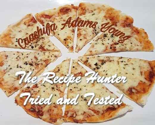 TRH Caashifa's Margheritta pizza