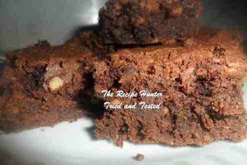 TRH Carol's Chocolate Brownies