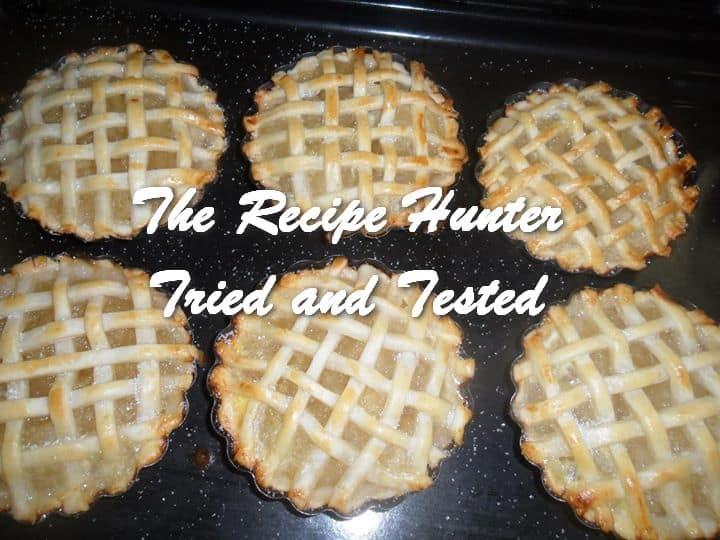 Carol's Lattice Apple Pies