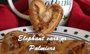 TRH Elephant ears or Palmiers