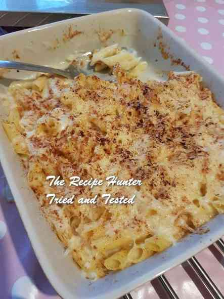 TRH Faye's Macaroni Cheese