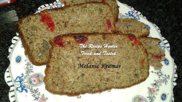 Melanie's Nutty Banana Cherry Loaf