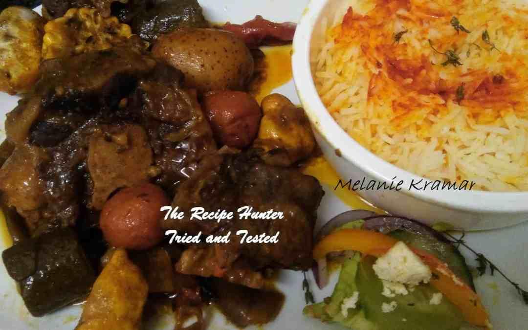 Melanie's Oxtail Potjie Stew