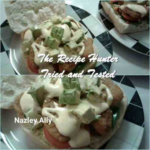 TRH Nazley's Panini with Chicken nuggets