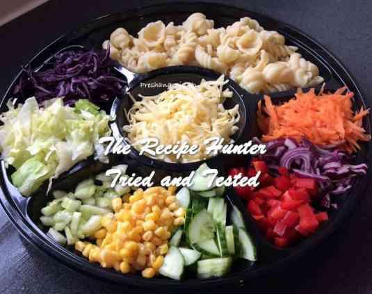 TRH Preshana's Build your own pasta salad