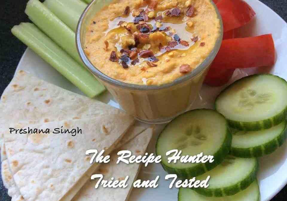 Preshana's Roasted Carrot Hummus