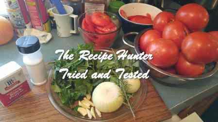 TRH Wally's Homemade Tomato Sauce