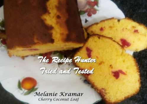 Melanie_s Coconut Cherry Loaf