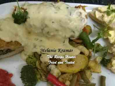 Melanie's Stuffed Chicken Breasts
