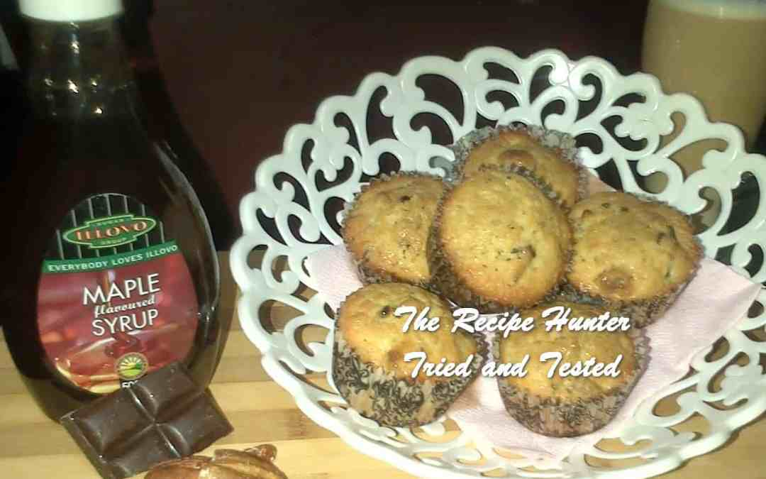 Melenie's Chocolate Maple Pecan Muffins