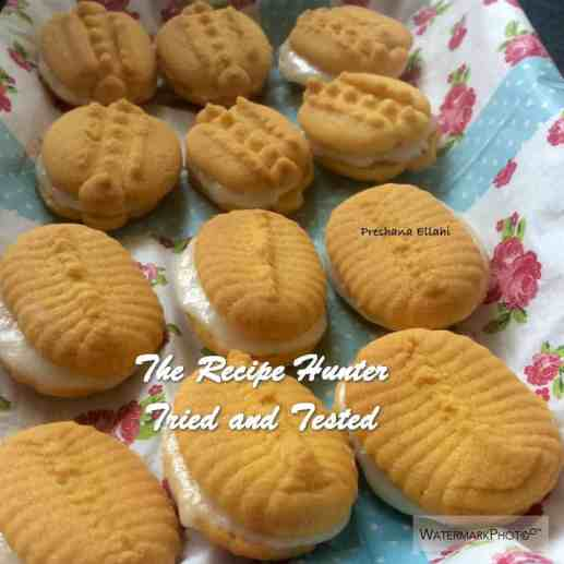Preshana's Custard Creams