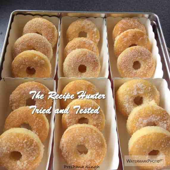 TRH Preshana's Homemade Baked Sugar Donuts